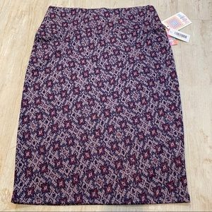 LulaRoe NWT Stretch Cassie Pencil Skirt M